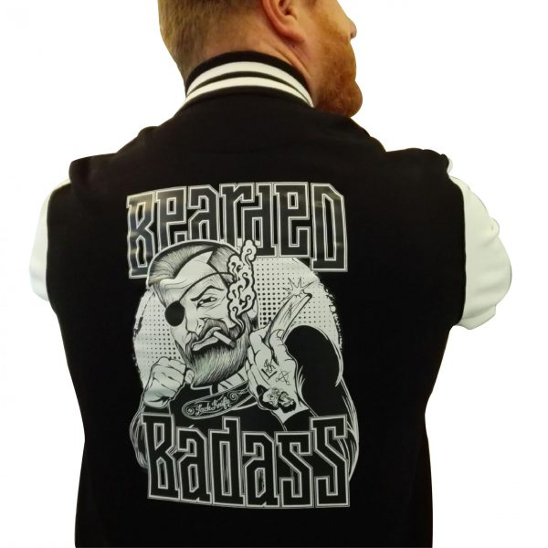 Bearded Badass College Jacke